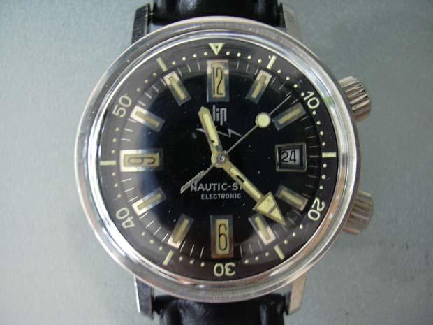 Les montres de plongée 60/70 à lunette interne tournante 51